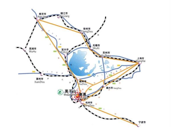 莫干山地理位置